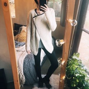Maison Scotch Wool, Needles, and Passion Sweater